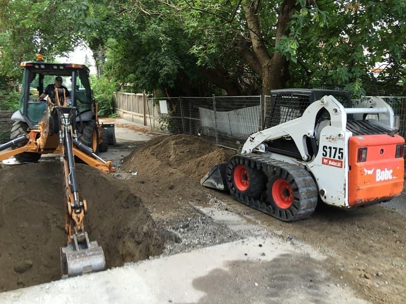 Excavating & Grading
