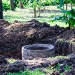 cement-septic-tank-for-waste-water-under-construction