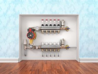 Heating-concept-Underfloor-heating-with-collector
