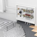 underfloor-heating-with-collector-and-radiator