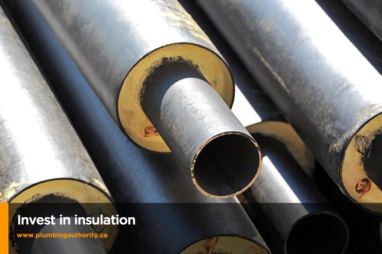 invest in insulation