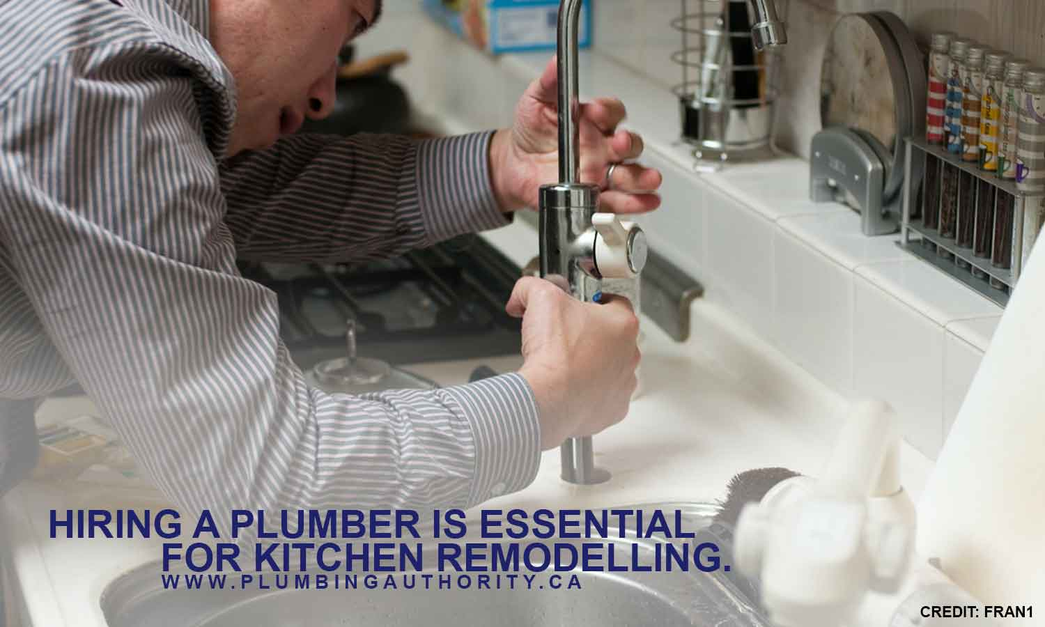 Hiring a plumber is essential for kitchen remodelling.