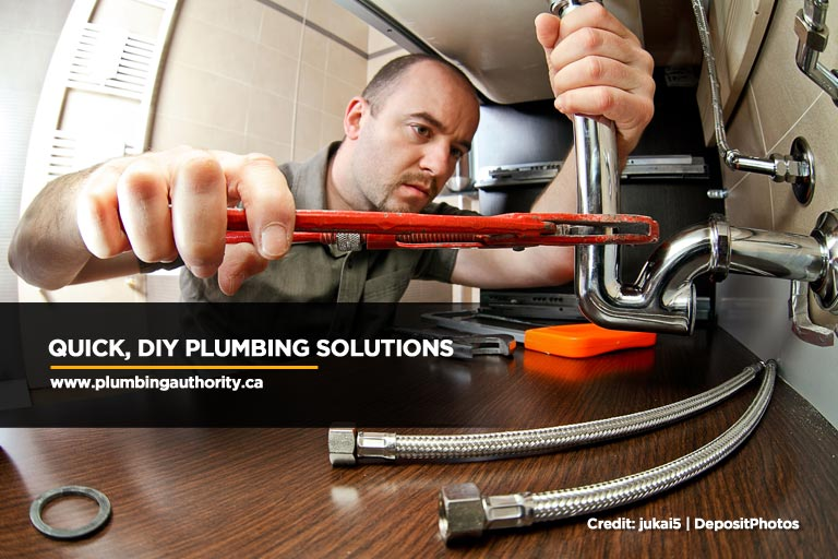 Quick, DIY Plumbing Solutions