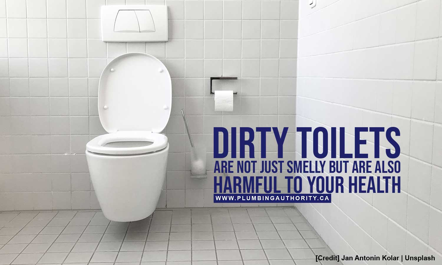 Dirty toilets are not just smelly
