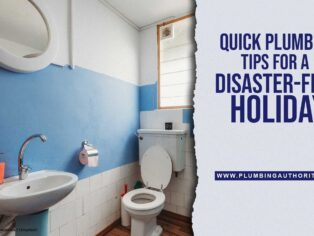 Quick Plumbing Tips for a Disaster-Free Holiday